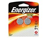 Energizer 2025BP-2 Lithium Button Cell Battery (2 Count), Health Care Stuffs