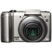 Olympus SZ-20 16 Mp Digital Camera, 12.5x Wide Optical Zoom (24mm Wide) with 3 460k LCD (Silver)