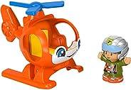 Helicóptero Ajudando Pessoas Little People Fisher-Price Mattel