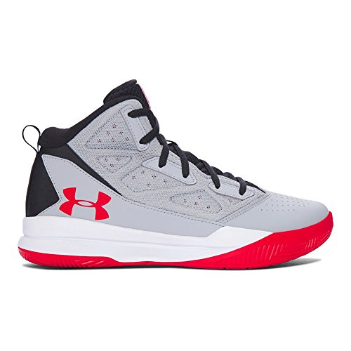 Under Armour Grade School UA Jet Mid 3.5 Overcast Gray