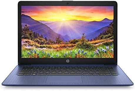 HP Stream Laptop Intel N4000 4GB 64GB eMMC 14-Inch WLED Win 10 S with Office 365 1-Year