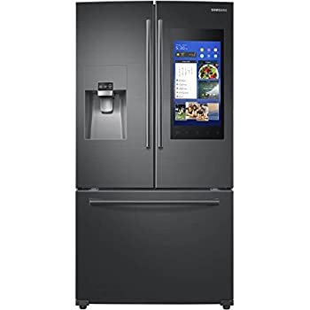 Amazoncom Samsung Black Stainless 24 Cu Ft Family Hub French Door