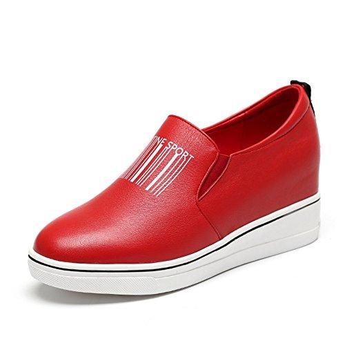Zapatos de las señoras/Zapatos de mujeres de mediana edad casual/Madre alta zapatos/Fondo pesado de señora B