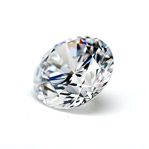 (2.00Cts Moissanite GH Colorless Loose Gemstone Loose Stone, Round Brilliant Cut VVS1 Clarity 8.00MM)