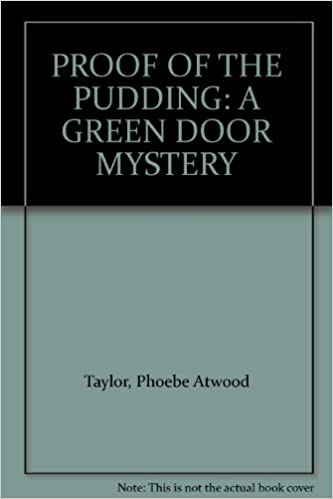 Book PROOF OF THE PUDDING: A GREEN DOOR MYSTERY