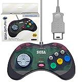 Retro-Bit Official Sega Saturn Controller Pad for Sega Saturn - Original Port