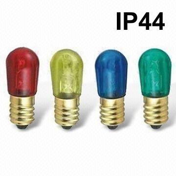 Prilux deco - Pebetero led rojo 1w e14 ip44 230v