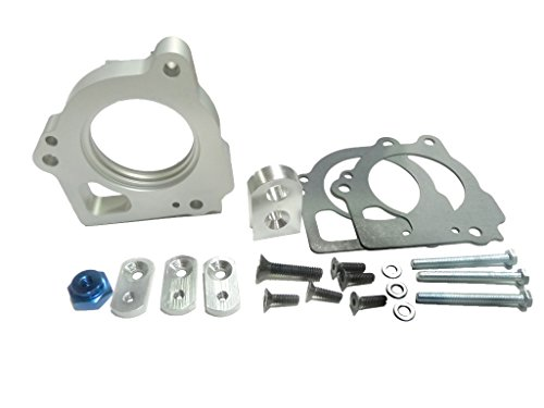 OBX Votex PowerFlow Throttle Body Spacer 02 DODGE RAM 1500 PICKUP V8 4.7L 2002 (Pickup Spacer Body Throttle)