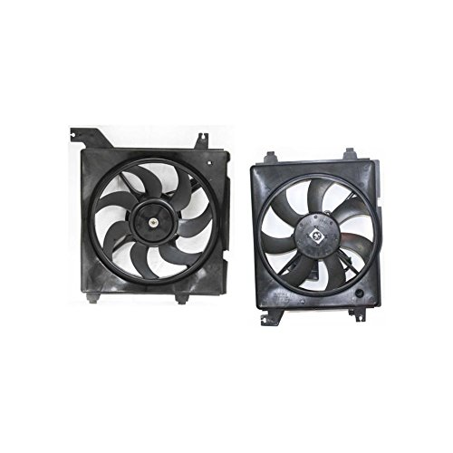 - Cooling Fan Assembly Set of 2 for 2006 Hyundai Elantra Limited