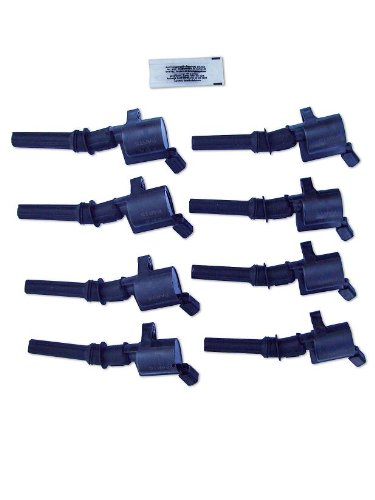 Araparts® Brand Ford 4.6L 5.4L 6.8L 99 00 01 02 03 V8 Ignition Coils set of 8 DG508 DG457 IC33 DG472 DG491 F150 F250 F350 F450 F550 PICKUP Explorer Expedition Econoline Crown Victoria E150 E250 E350 Super Duty NEW FREE GREASE PACK Coil packs