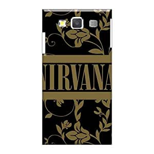 Scratch Resistant Hard Phone Cases For Samsung Galaxy A5 With Allow Personal Design Lifelike Nirvana Band Image TimeaJoyce