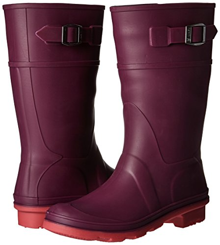 Pictures of Kamik Girls' Raindrops Rain Boot Dark Purple EK4137H 4