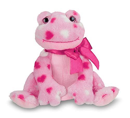 - Bearington Hoppy Hearts Plush Stuffed Animal Frog with Hearts, 9 inches