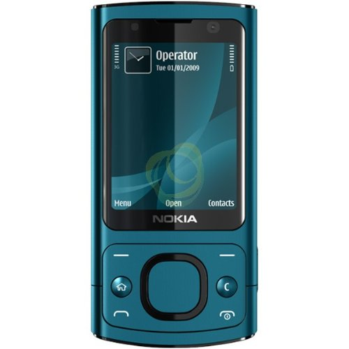 amazon com nokia 6700 slide blue unlocked phone cell phones rh amazon com