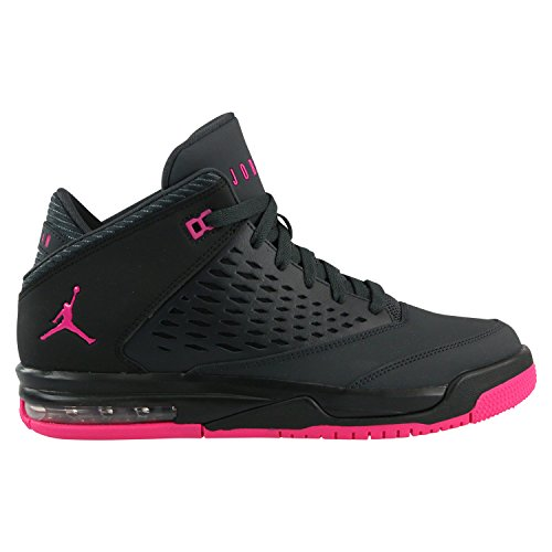 JORDAN KIDS JORDAN FLIGHT ORIGIN 4 (GS) ANTHRACITE DEADLY PINK BLACK SIZE 4 by Jordan