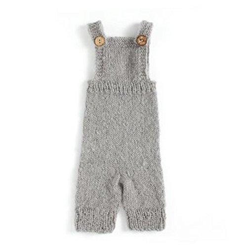 Boy Girl Overalls (Nodykka Newborn Baby Photography Mohair Overalls Props Boy Girl Photo Shoot Clothes)