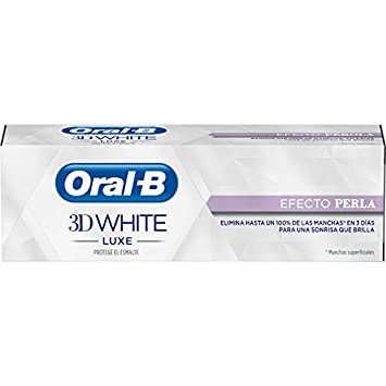 Oral-B 3D Pasta Dentífrica White Luxecon Efecto Perla - 75 ml: Amazon.es: Amazon Pantry