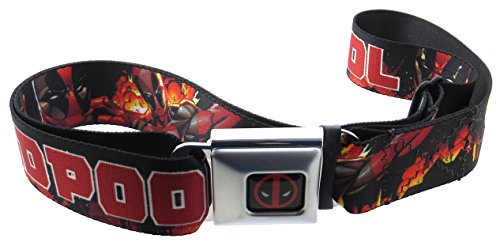 Deadpool Marvel Seatbelt Close Up Explosion product image
