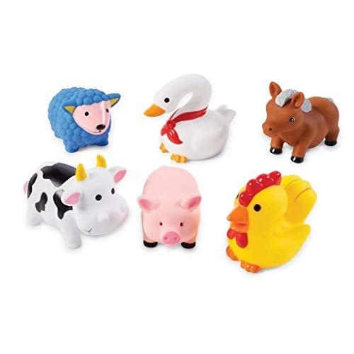 Mud Pie Farm Animal Rubber Bath Toys