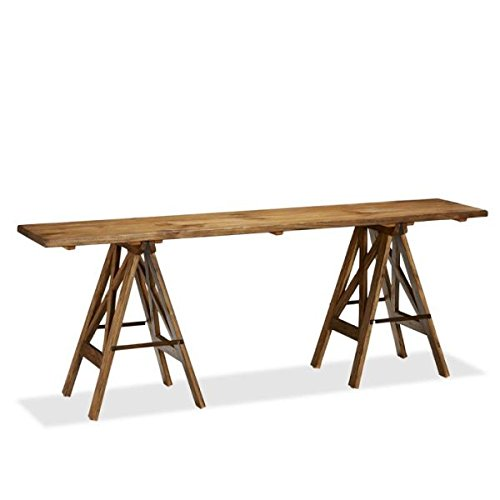 Rustic Solid Reclaimed Wooden Modern Antique Handmade The Attic Bordeaux Console Table