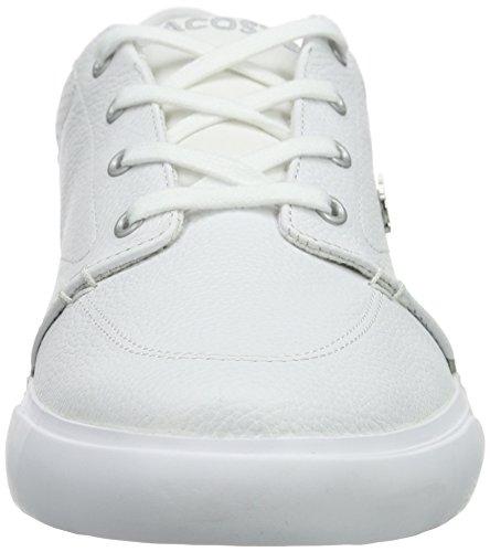 Lacoste BAYLISS 316 1 - Zapatillas Hombre Blanco (Wht/WHT 21G)