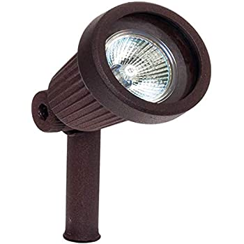 Paradise GL22724 Low Voltage Cast Aluminum 20W Spotlight (Rustic Bronze)
