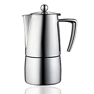 Amazon.com: Minos Moka Pot cafetera de espresso – 4 tazas/6 ...
