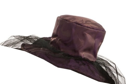 Purple Saloon Girl Costume (Rubie's Costume Womens Mini Purple Saloon Girl Hat, Purple, One Size)