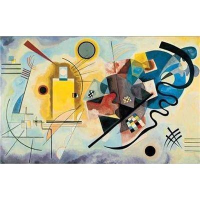 Editions Ricordi 5901n16178 Kandinsky Giallo Rosso Blu Puzzle Da 1500 Pezzi