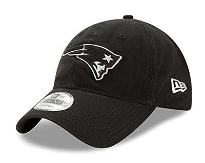 New England Patriots New Era NFL 9Twenty Twill Core Classic Adjustable Black Hat by New Era