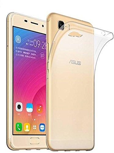 sale retailer d6ef6 3021e Fashionury Soft Silicone Ultra Clear Flexible TPU Slim Back cover for Asus  Zenfone 3S Max (Transparent)