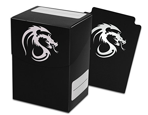 9 ct. BCW Black Deck Box with