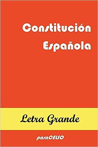 CONSTITUCIÓN ESPAÑOLA: EDICIÓN DE LETRA GRANDE: 3: Amazon.es: Padres de la Constitución: Libros