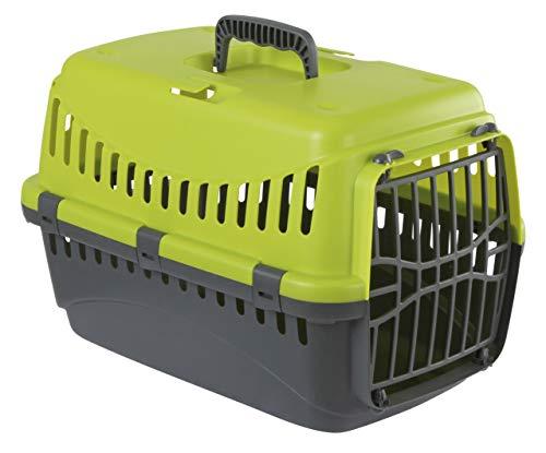 Menz PetFeed 'Travel' – Transportbox für Katze und kleine Hunde | aus Kunststoff, 32 x 48 x 32 cm, mit Vorrichtung zur…