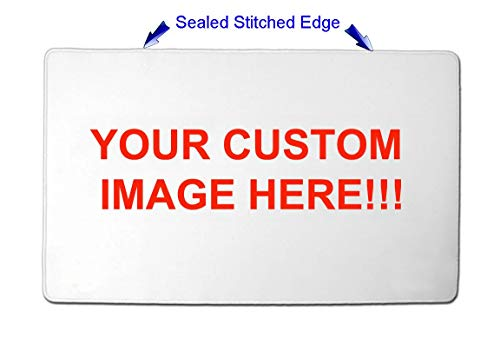 Personalized Custom Playmat w/ STITCHED EDGE Any image you want