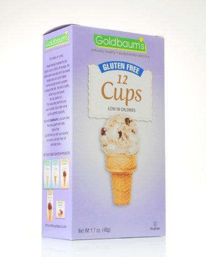 Goldbaum's Gluten Free Ice Cream Cone Cups - Goldbaums Ice Cream Cones