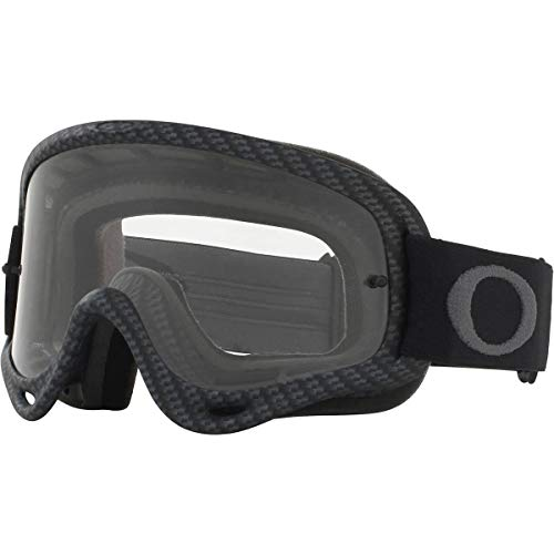 Oakley O Frame MX Adult Off-Road Motorcycle Goggles - Matte Carbon Fiber/Clear (Goggles Oakley)