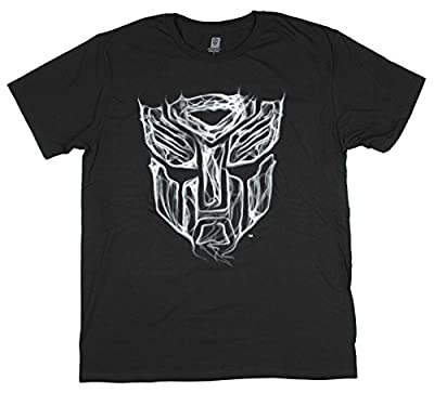 Transformers Autobots Smoke Logo Graphic T-Shirt