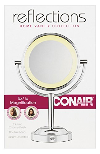 Conair Round Shaped Double Sided Battery Operated Lighted