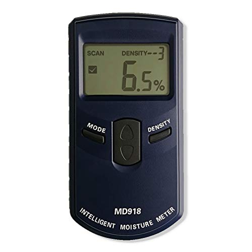 - AMTAST Intelligent Moisture Meter Digital Lumber Moisture Detector Pinless Wood Moisture Tester, Measure Range 4%~80% RH, Resolution 0.5%