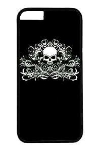 Cool Skull 18 Slim Hard For Iphone 5/5S Case Cover Case PC Black Cases