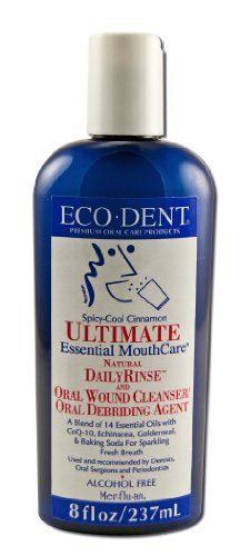 Eco Dent, Mouth Rinse Ultimate Care Cinnamon, 8 Fl Oz