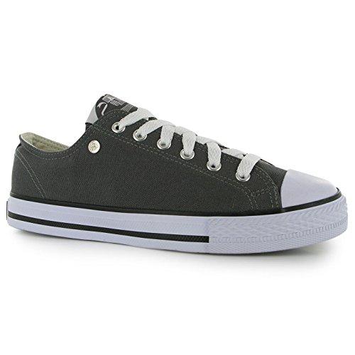 Dunlop - Zapatillas para niño Rojo rojo Gris - gris