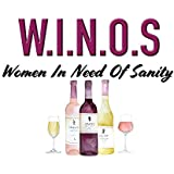 Funny Wine Print - Women In Need of Sanity - 11x14 Unframed Art Print - A Great Gift for Those Passionate About Wine - Limited Time Introductory Pricing