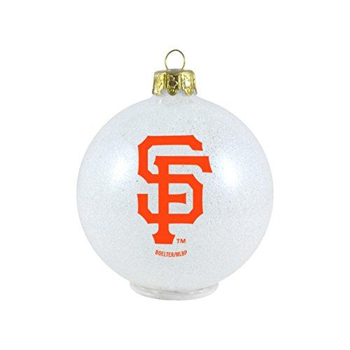 MLB San Francisco Giants LED Color Changing Ball Ornament
