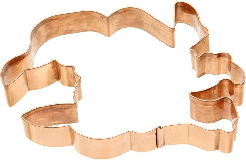 - Old River Road Witch Head Shape Cookie Cutter, Copper