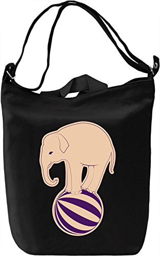 CIrcus Borsa Giornaliera Canvas Canvas Day Bag| 100% Premium Cotton Canvas| DTG Printing|