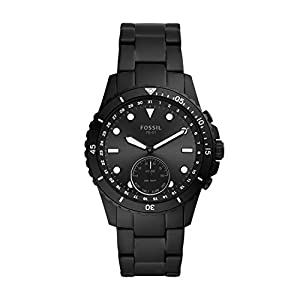 Fossil Fb-01 Hybrid Smartwatch Analog Black Dial Men's Watch-FTW1196