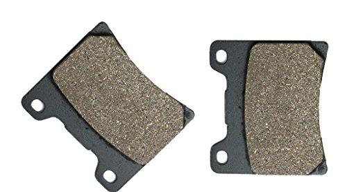 Yzf600 Brake Rear (CNBK Rear Brake Shoe Pads Semi-Metallic fit YAMAHA Street Bike YZF600R YZF600 YZF 600 R Thunder Cat 4TV H441 96 97 98 99 00 01 02 03 1996 1997 1998 1999 2000 2001 2002 2003 1 Pair(2 Pads))