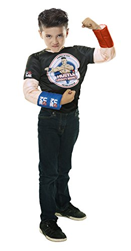 WWE Deluxe John Cena SFX Dress Up Muscle -